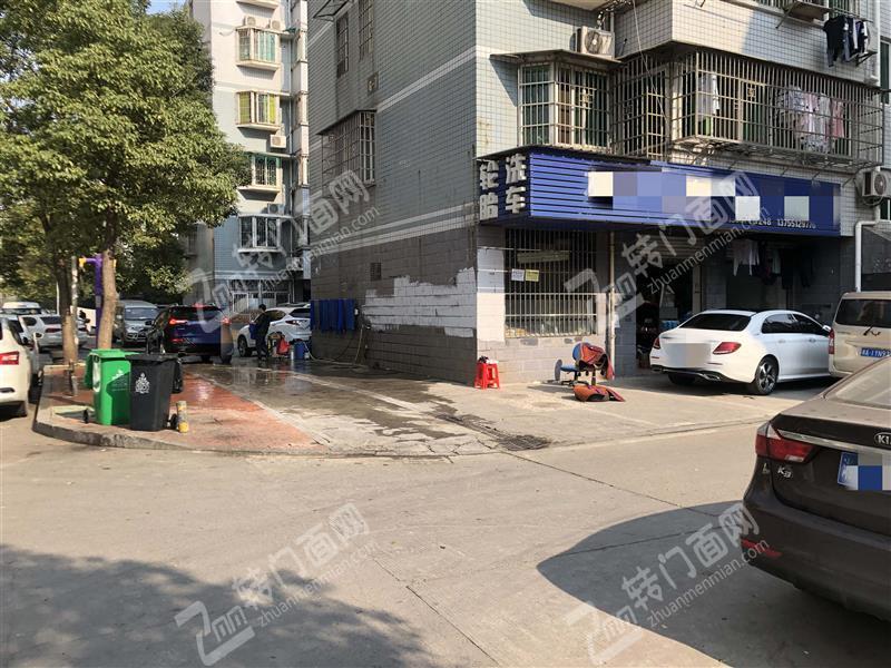 五一村写字楼对面大型社区100㎡汽车美容店转让(6年老店)
